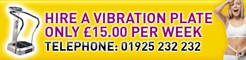 Vibration plate  Hire only £15 per week